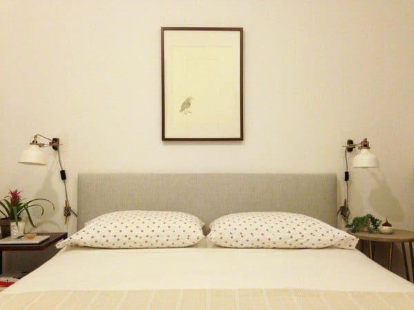Ikea Hack: DIY Upholstered Headboard