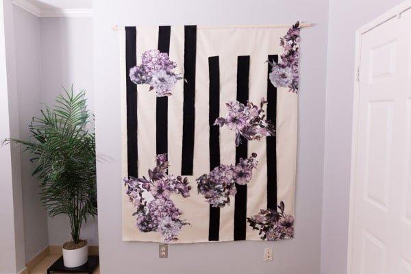 DIY Wallpaper Look For Less #DIY #walldecor #homedecor