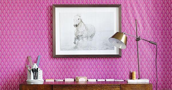 This $3 Wallpaper Hack Is The Stuff Of DIY Dreams #DIY #walldecor #homedecor