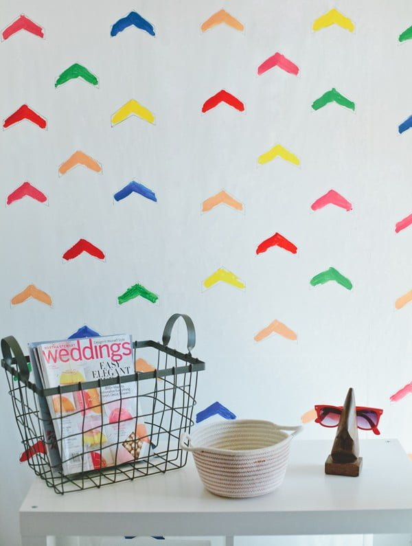 how to make your own wallpaper • A Subtle Revelry #DIY #homedecor #walldecor