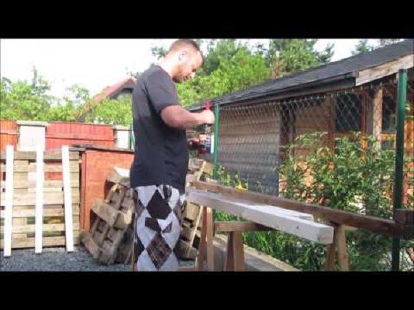DIY foldable hammock stand