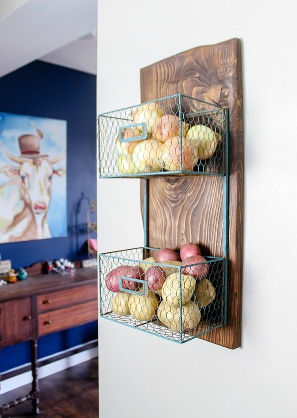 Make a DIY produce stand in 30 minutes