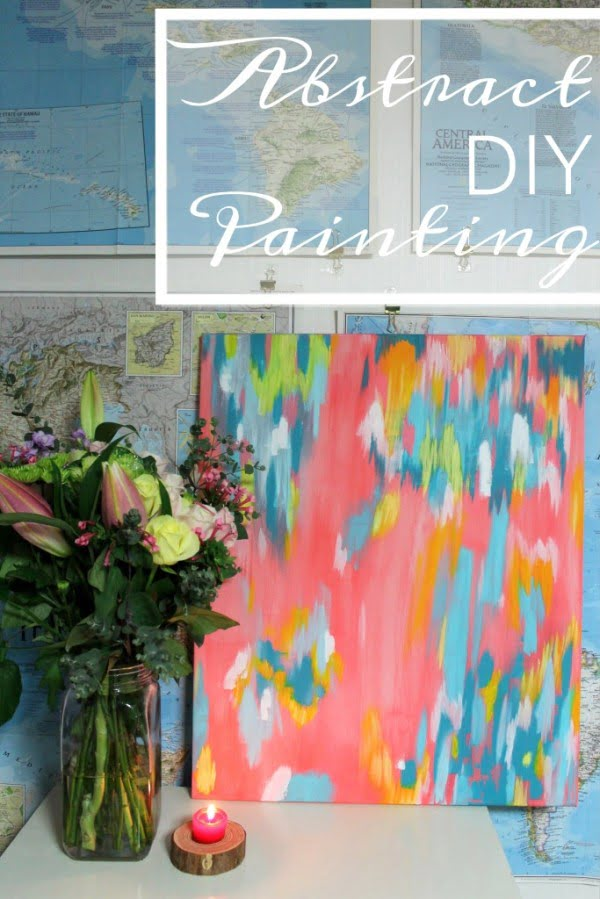How to paint your own abstract painting