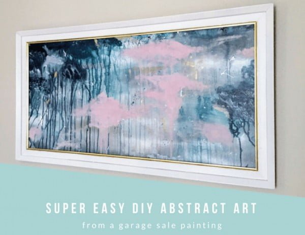 Super Easy DIY Abstract Art