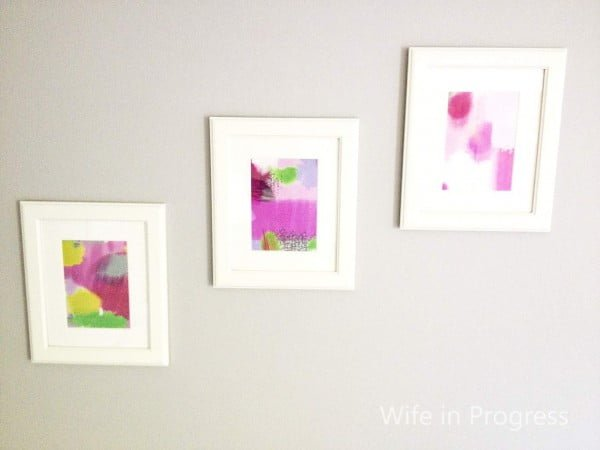 Easy Art: DIY Abstract Prints For You to Make