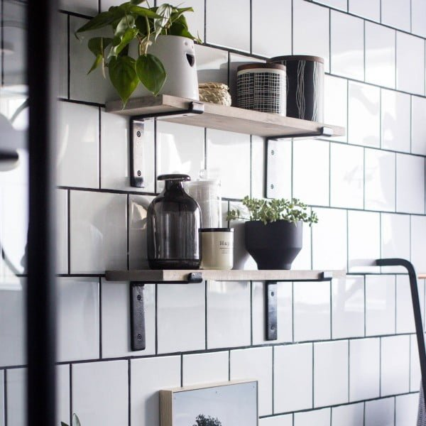 Diy Shelves For Small Bathrooms: 30 Easy DIY Bathroom Shelves To Increase Your Storage
