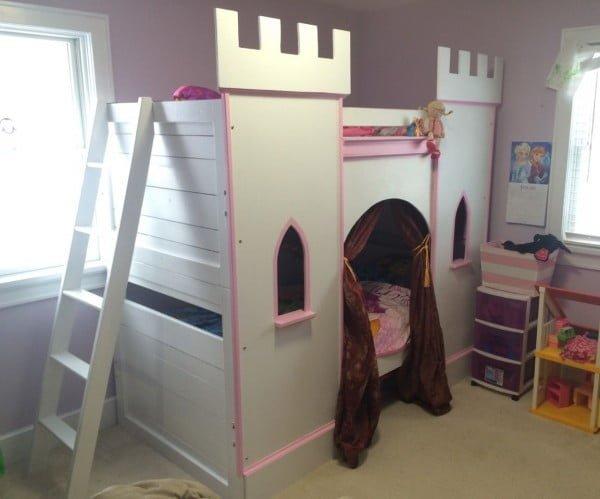 Princess Castle Bunk-Bed