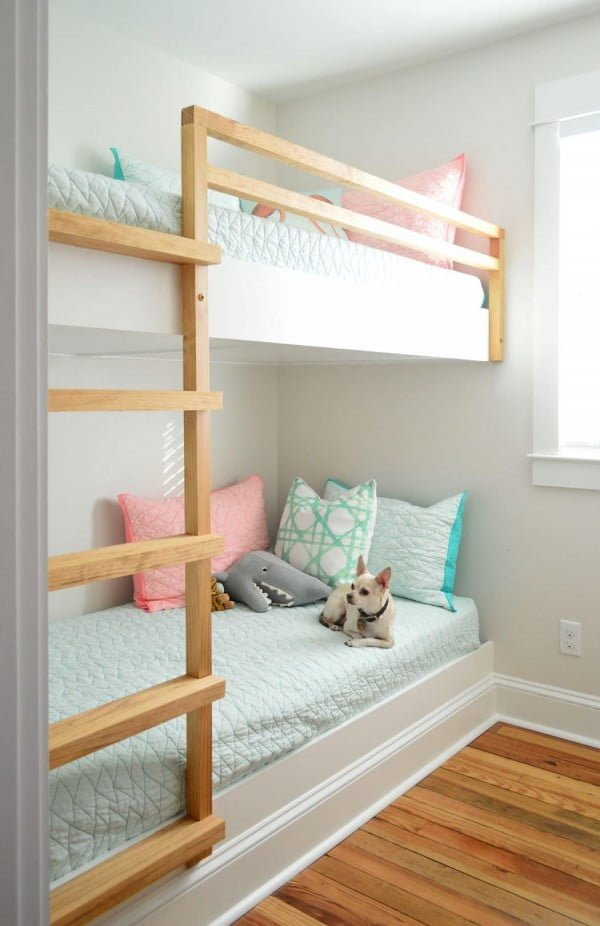 How To Make DIY Built-In Bunk Beds