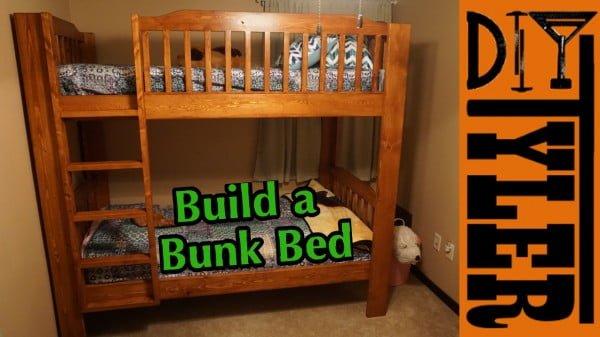 Bunk Bed #DIY #furniture #bedroomdecor #homedecor