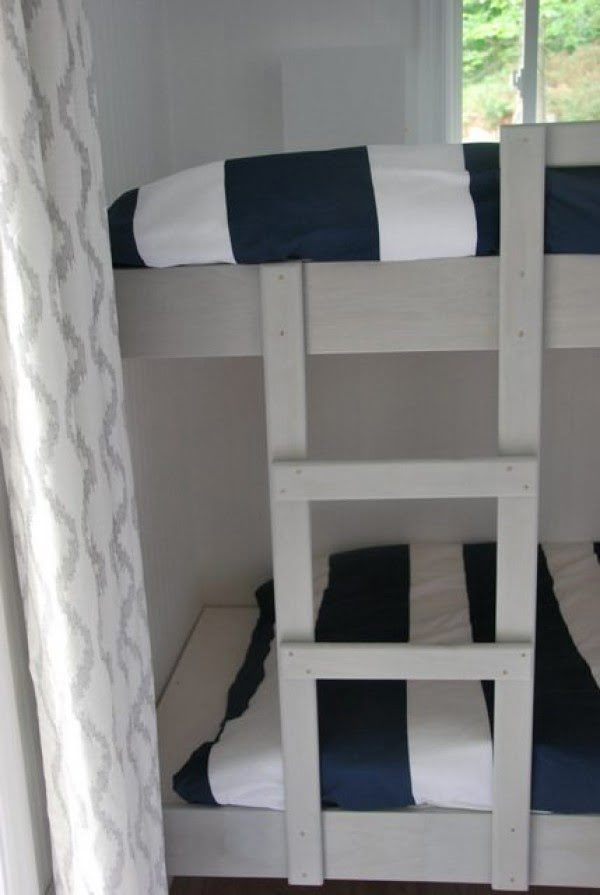 cottage DIY: the bunkie bunk bed tutorial