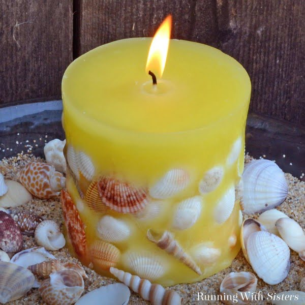 DIY Candle Making: Designer Seashell Candles