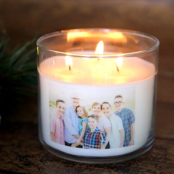 How to make personalized candles [cheap + easy handmade gift!] #DIY #candle #homdecor #crafts