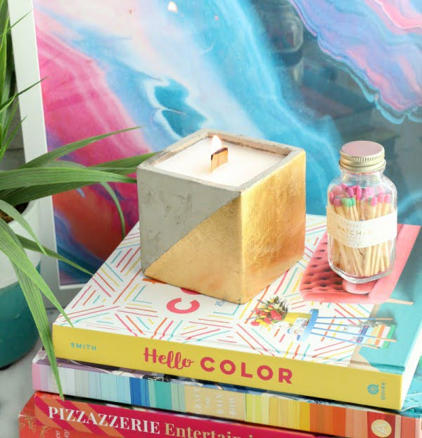 DIY High End Luxury Candle #DIY #candle #homdecor #crafts