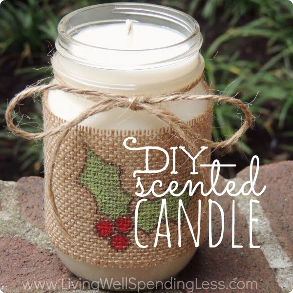 DIY Scented Candle #DIY #candle #homdecor #crafts