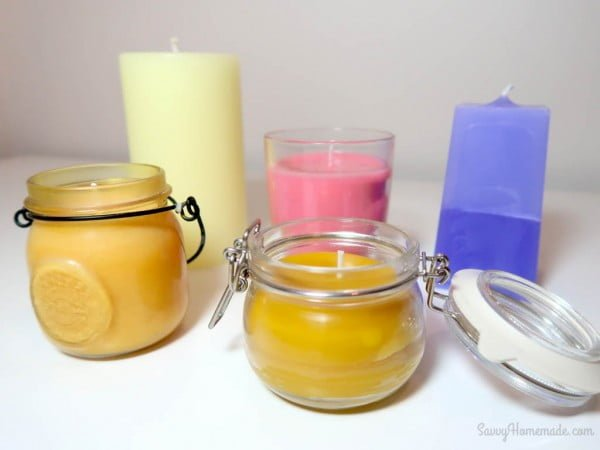 How To Make Scented Candles From Scratch #DIY #candle #homdecor #crafts