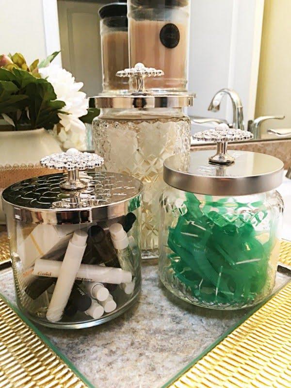 DIY: How To Repurpose Candle Jars #DIY #homedecor #crafts #candlejars