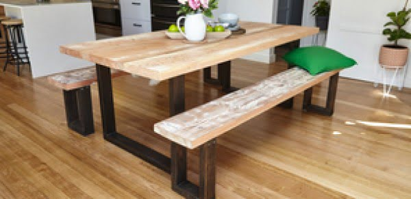 How To Make A Wooden Dining Table #DIY #furniture #homedecor #woodworking
