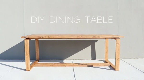 Modern Split-Top Dining Table