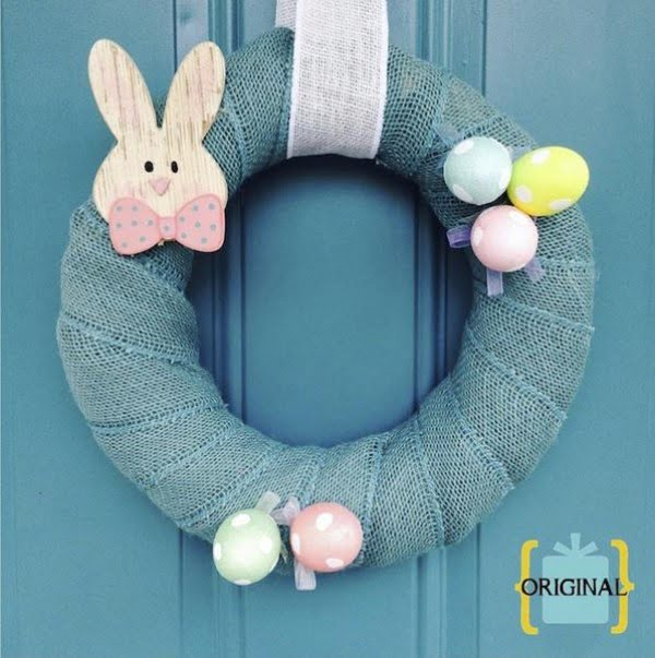 DIY Easter Wreath  wreath