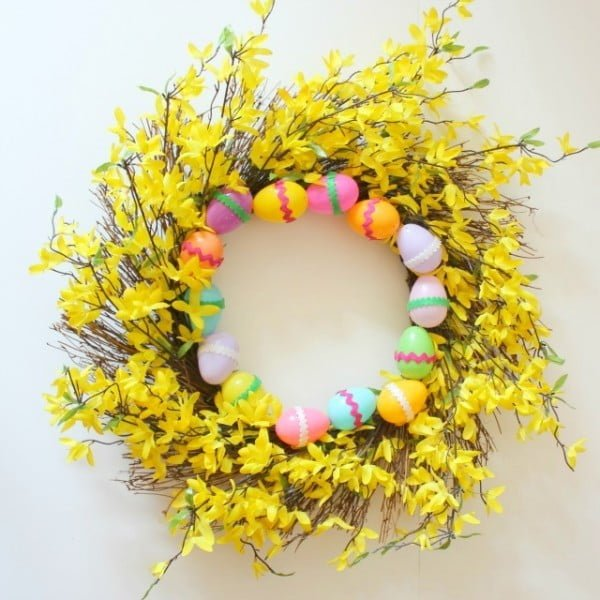 The Easiest DIY Easter Wreath  wreath