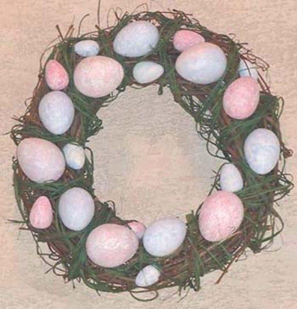 Easter Decor DIY: Egg-cellent Easter Wreath  wreath