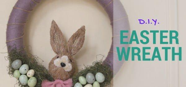 DIY: Easy Easter wreath tutorial  wreath