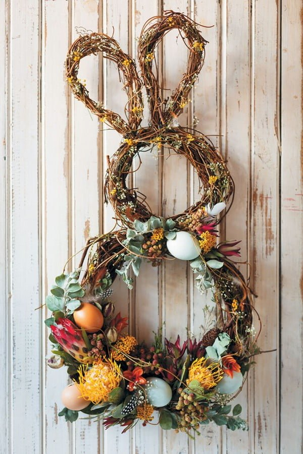 How to make an Easter wreath  wreath