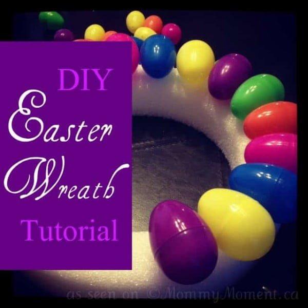 DIY Easter Wreath Tutorial  wreath