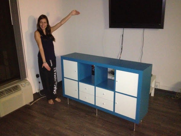 Entertainment Center Ikea Hack