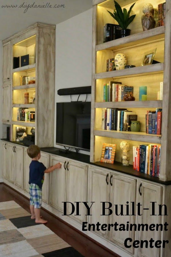 DIY Built-In Entertainment Center: Final Reveal