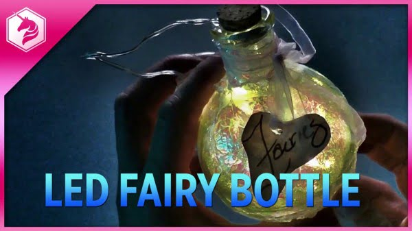 Glowing Fairy Bottle Tutorial: DIY Fairy Lights