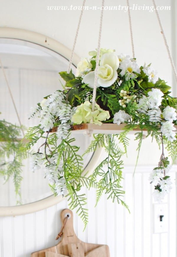 Floral Chandelier: How to Make Your Own