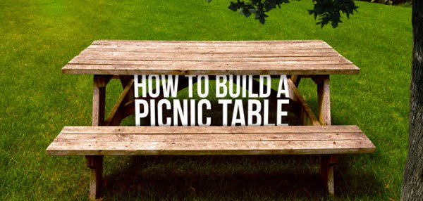 Learn How To Build a Picnic Table Your Family Will Enjoy For Years #DIY #woodworking #outdoors #backyard #garden