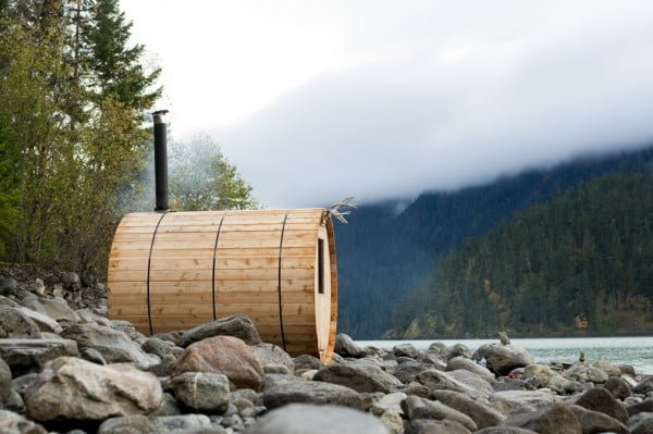 Building a DIY Outdoor Sauna in the Backcountry