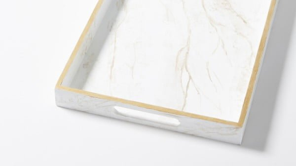 DIY This Marvelous Marble Serving Tray