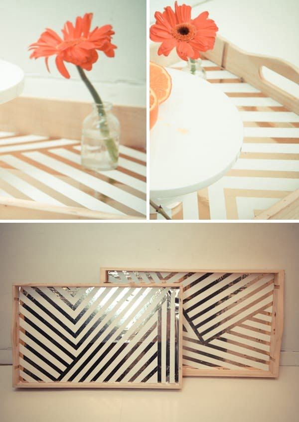 diy serving tray #DIY #organize #serving #homedecor #coffeetable