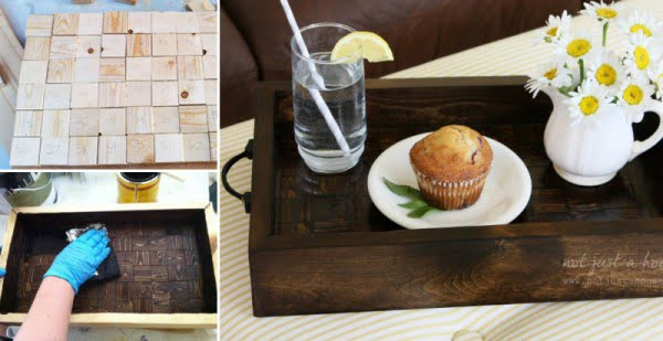 How to Make Wood Serving Tray