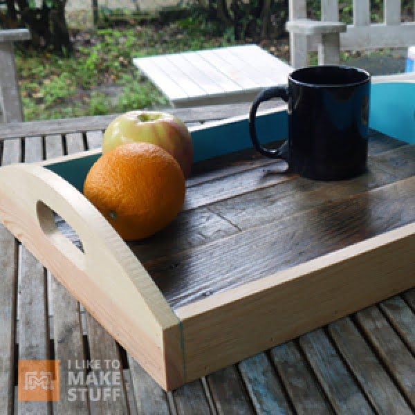 How to make a serving tray from pallet wood