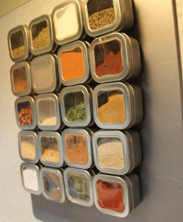 DIY Spice Rack #DIY #organize #kitchendesign #homedecor