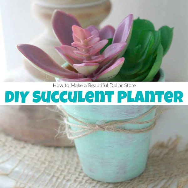 How to Make a Beautiful DIY Succulent Planter the Easy Way