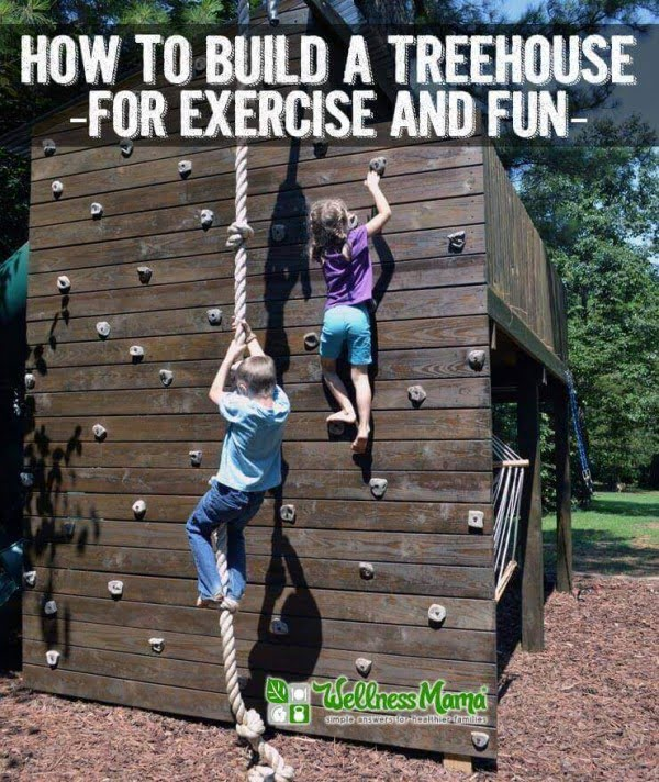 How to Build a Treehouse for Exercise & Fun