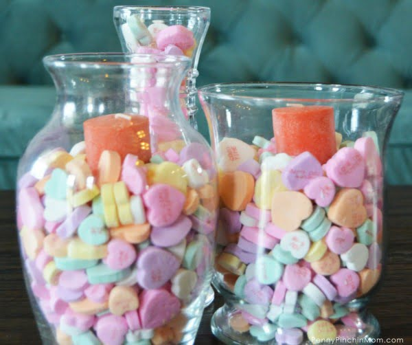 DIY Sweetheart Centerpieces