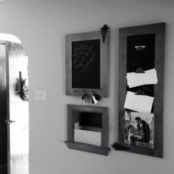 DIY: Foyer Wall Organizer