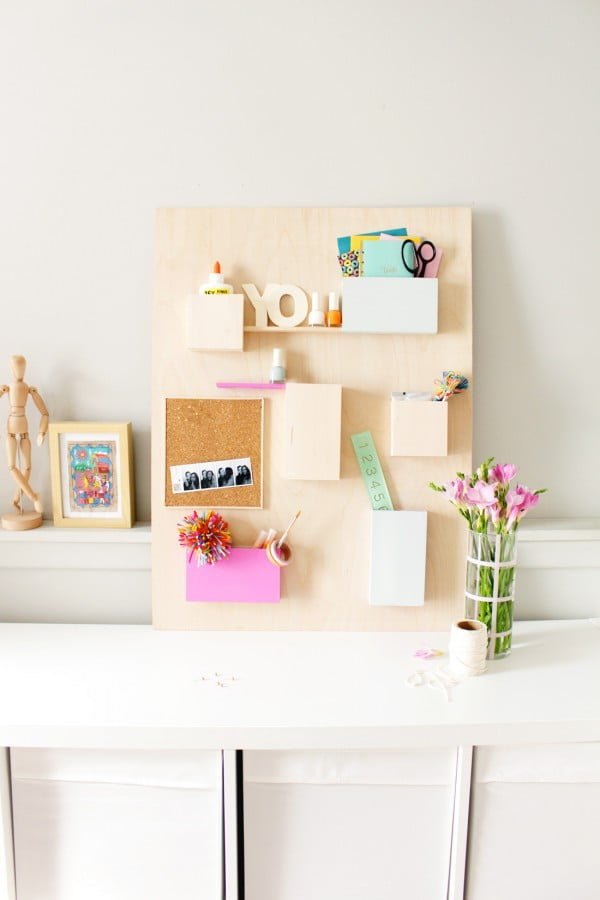 DIY Update #DIY #organize #storage #homedecor