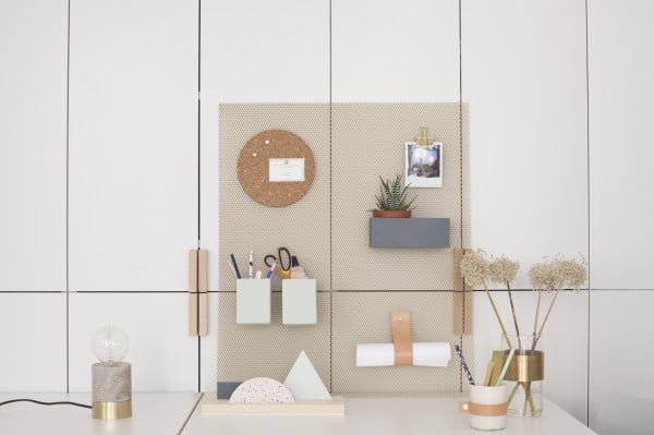 DIY organizer wall storage by Heju #DIY #organize #storage #homedecor