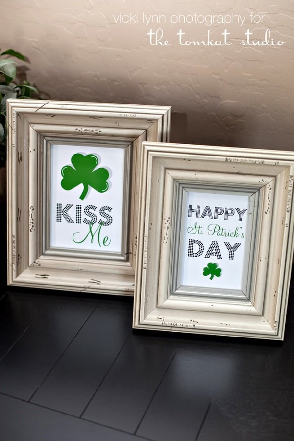 DIY St. Patrick's Day art prints