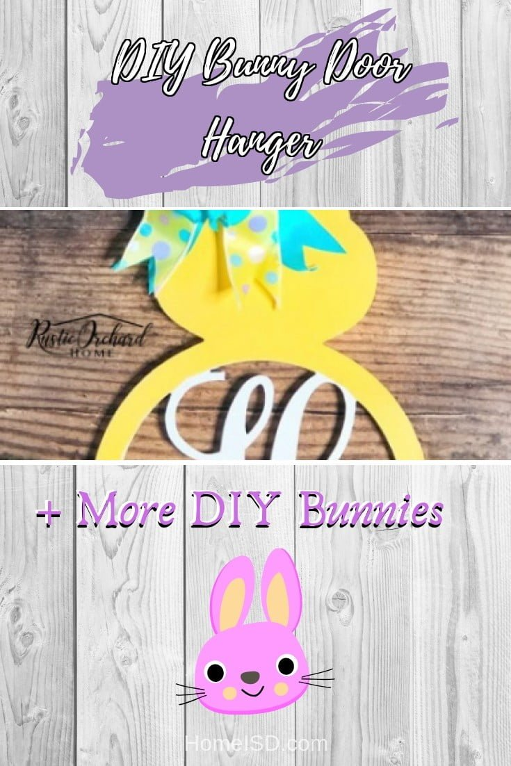 DIY Bunny Door Hanger  s art