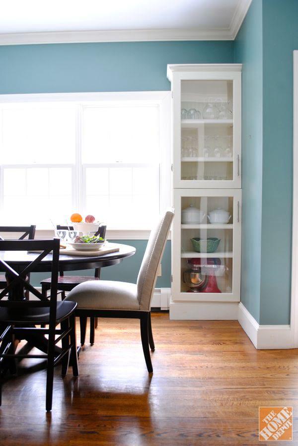 DIY Glass Cabinet Doors