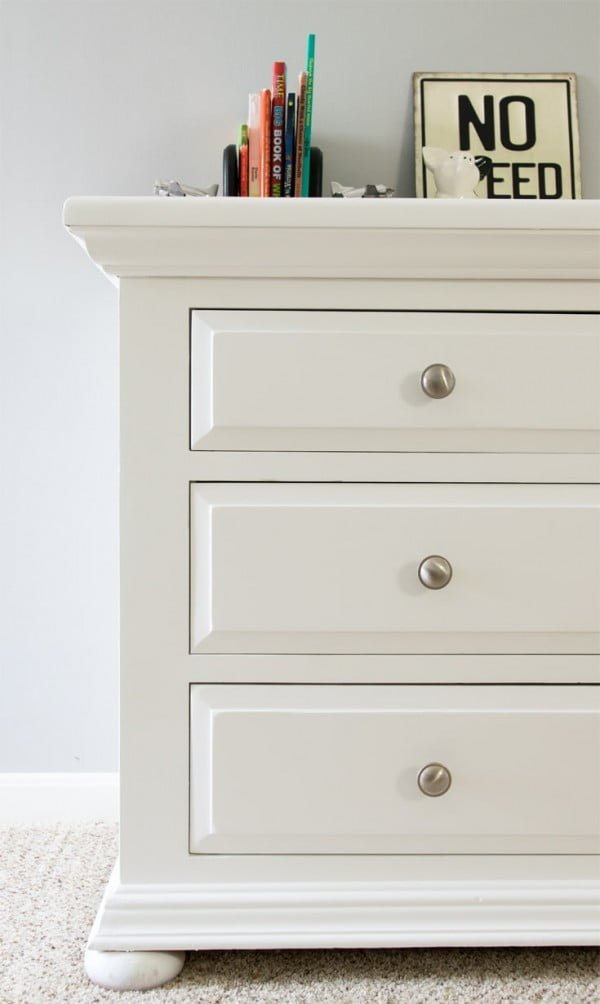 DIY Dresser Makeover with Furniture Paint -