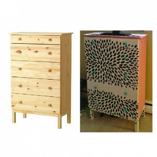 DIY Dresser Makeover #DIY #bedroom #furniture #woodworking #dresser